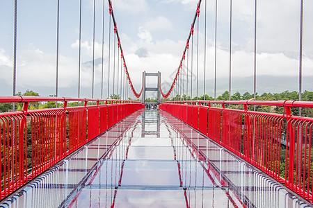 玻璃吊桥图片