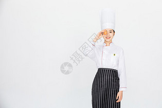 美女厨师图片