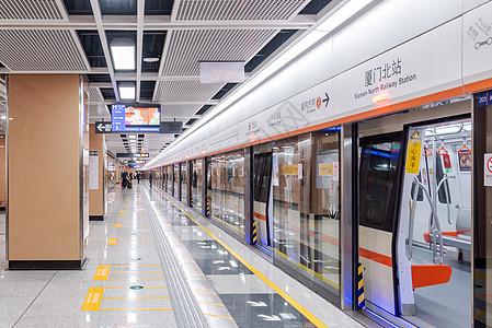 厦门地铁站设施图片