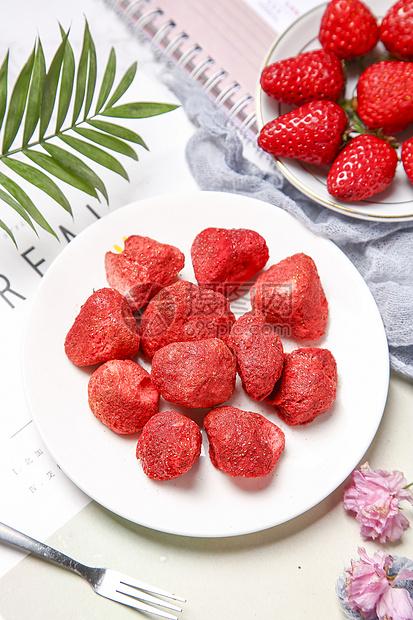 草莓干图片