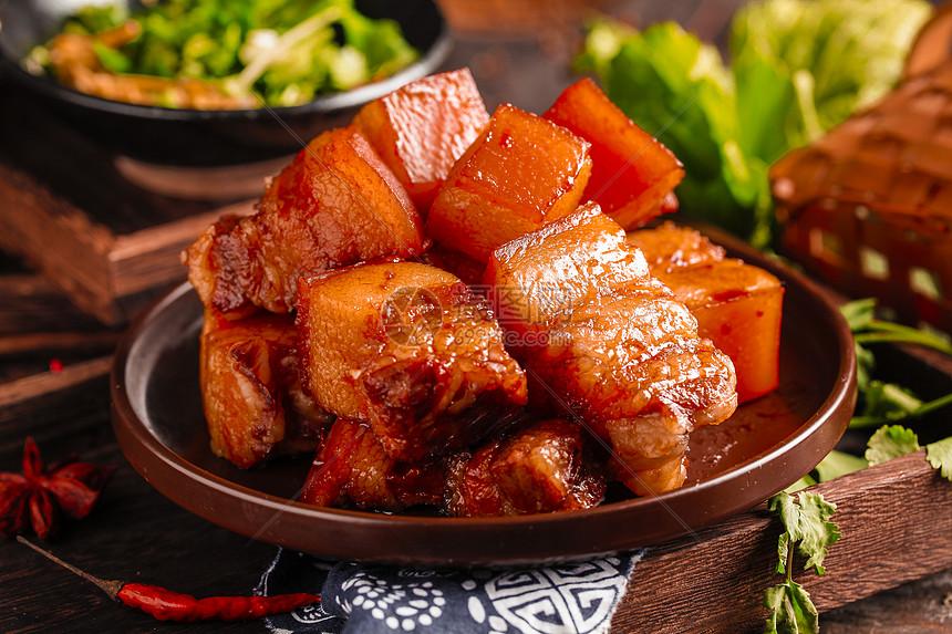毛氏红烧肉图片