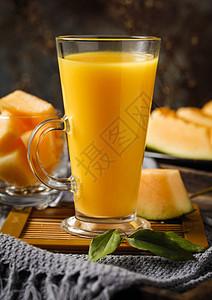 新疆哈蜜瓜汁图片
