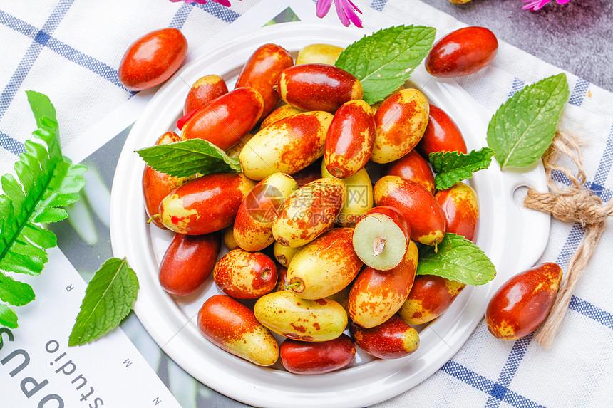 新鲜枣子图片