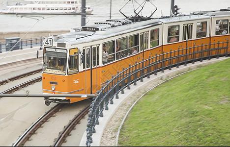 布达佩斯有轨电车图片