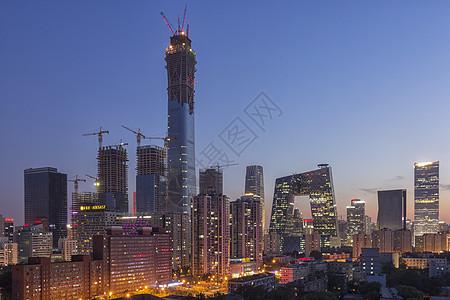 北京现代建筑群图片