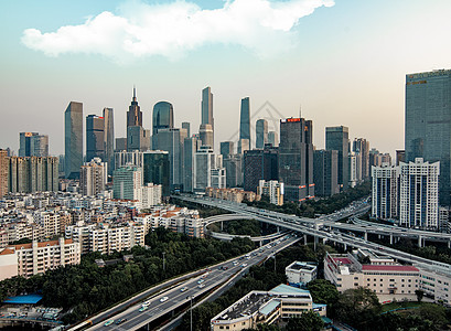 广州城市风光图片