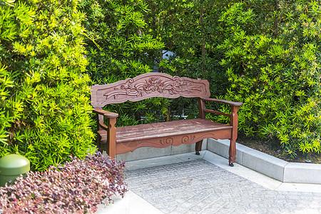 公共休息座椅图片