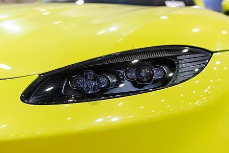 汽车车灯图片