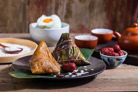 端午节美味的端午粽子图片