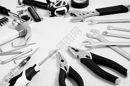 五一劳动维修工具图片