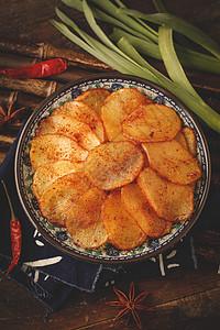 麻辣土豆片图片