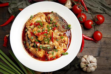 红烧鱼块图片