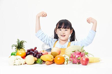儿童健康饮食图片