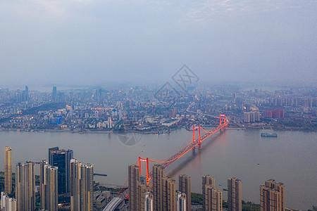 俯瞰江景建筑图片