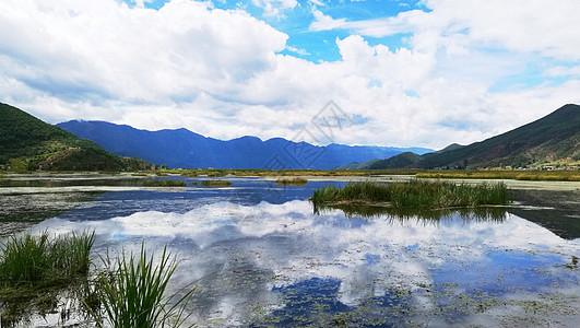 云南风光掠影泸沽湖草海图片