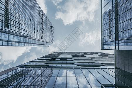大楼玻璃幕墙图片
