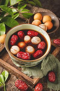 红枣桂圆水图片