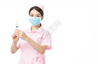 女性护士打针图片