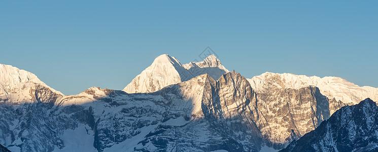 尼泊尔ebc雪山图片