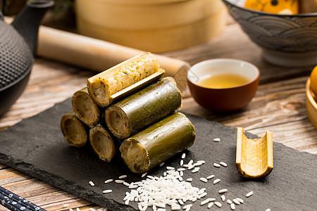竹筒饭图片