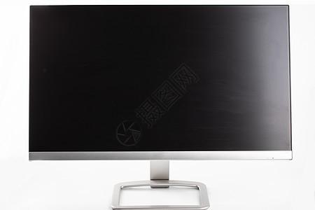 白色背景上的显示器图片