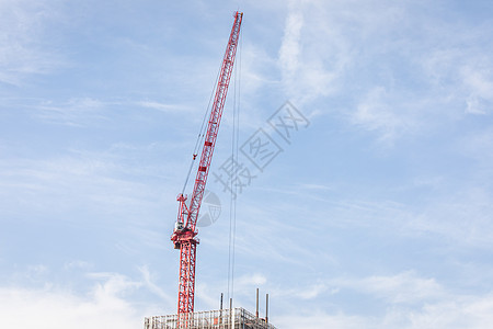 正在建设中的大楼图片