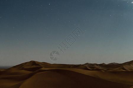 沙漠星空风光图片