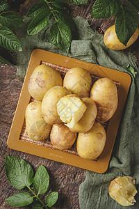 蒸小土豆图片