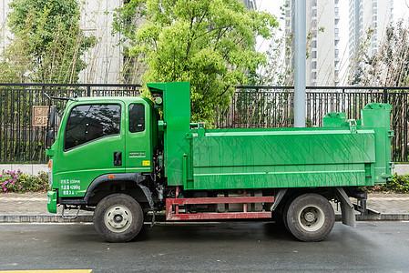 工地施工卡车图片