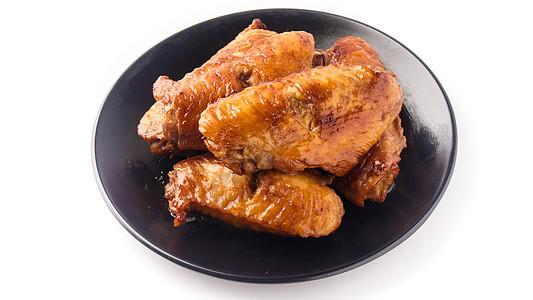 炸鸡翅图片