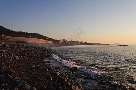 青岛海滩海景图片