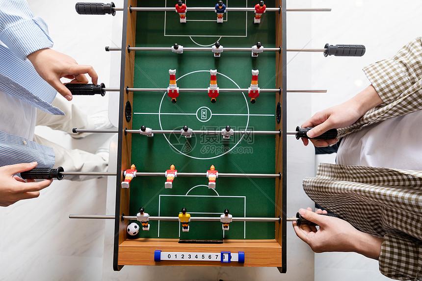 桌式足球图片
