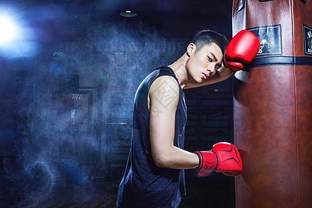 男性拳击运动员图片
