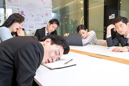 疲劳会议图片