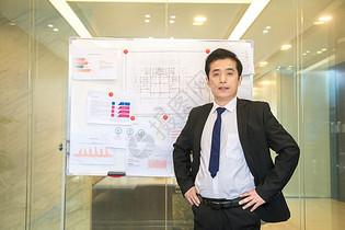 会议室白领商务演讲图片