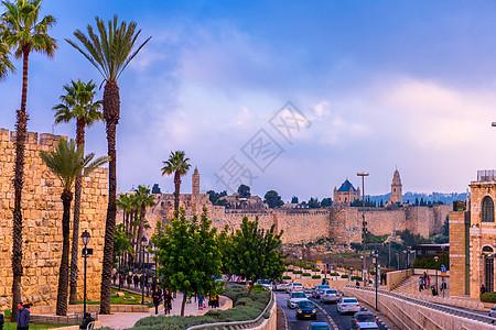 耶路撒冷城市景观图片