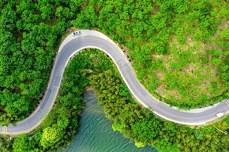 航拍安徽皖南318自驾公路旅行图片