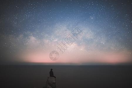 海岛星空图片