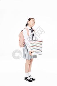 小学生学习压力大图片