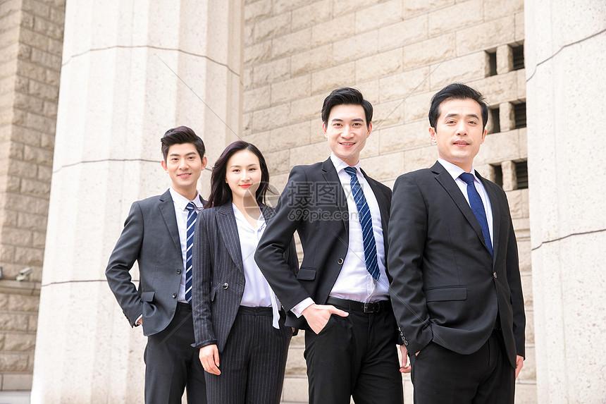 商务企业团队形象图片