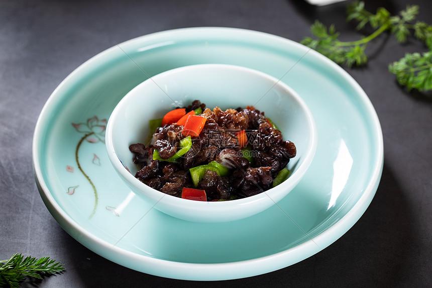 凉拌海参菇图片