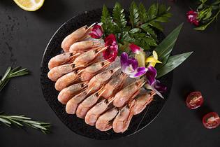 美食基围虾图片