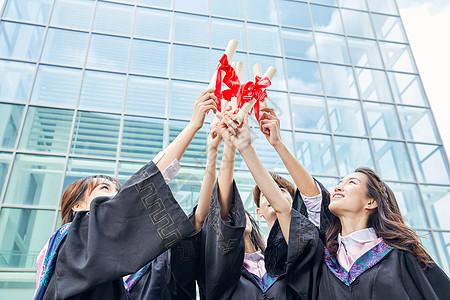 大学毕业照图片