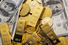金币金块图片