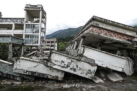 四川汶川地震遗址图片
