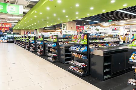 超市内部布局图片
