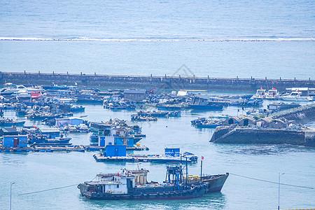 海上渔船打捞船舶图片