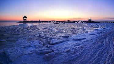 冬天海岸图片