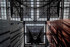 天津滨海新区图书馆建筑图片