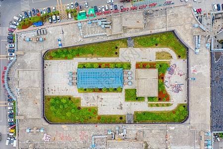 商业中心楼顶空中花园图片